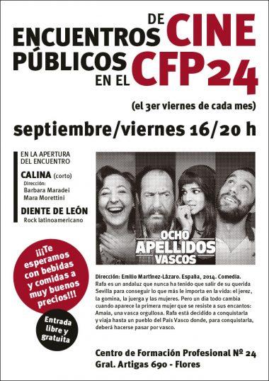 Encuentros de Cine Públicos CFP 24